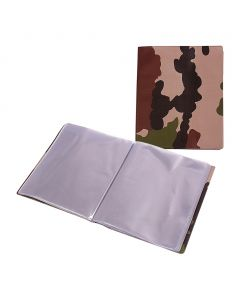 LUTIN A5 30 FEUILLETS CAMOUFLAGE