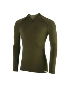 TEE SHIRT TECHNICAL LINE MANCHES LONGUES COL ZIP